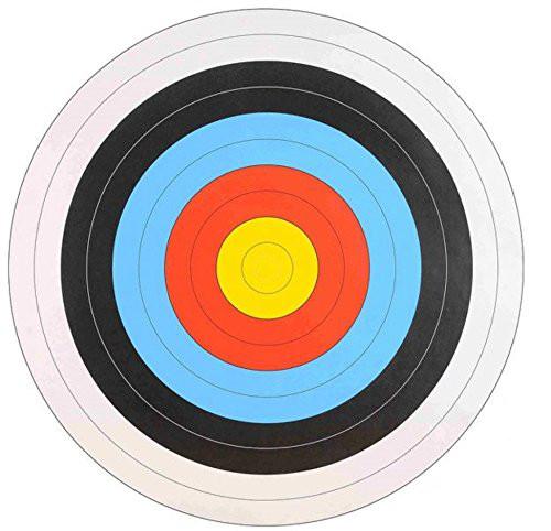 WA Zielscheibenauflage 10-Ring,  Lizenz: creative common