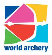 Logo World Archery Federation (WA),  Lizenz: Markenrechtlich geschütztes Logo